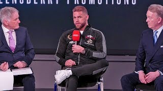Billy Joe Saunders PRESS CONFERENCE & ANNOUNCEMENT | Frank Warren Boxing