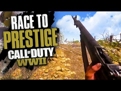 JOINING THE RACE TO PRESTIGE! - COD WW2 MULTIPLAYER GAMEPLAY