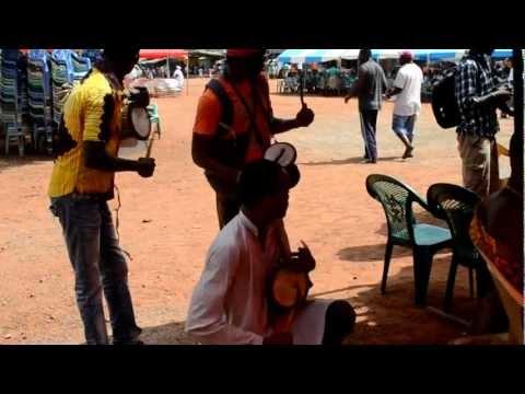 Drummers on Krobo's annual festival in Somanya Ghana  2012