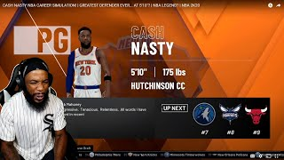 CASH NASTY WHAT WOULD HAPPEN IF I GOT DRAFTED TO THE NBA SIMULATION! GREATEST DEFENDER EVER?!