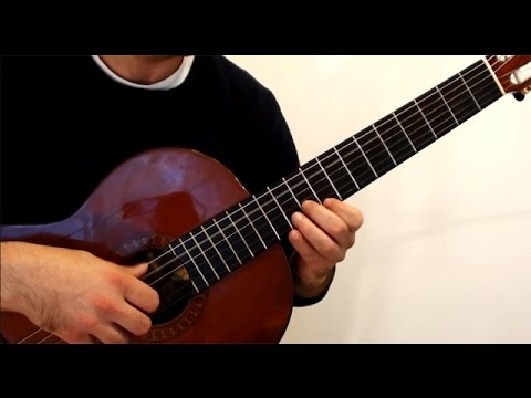 Habanera from Carmen: Solo Classical Guitar Cover - YouTube