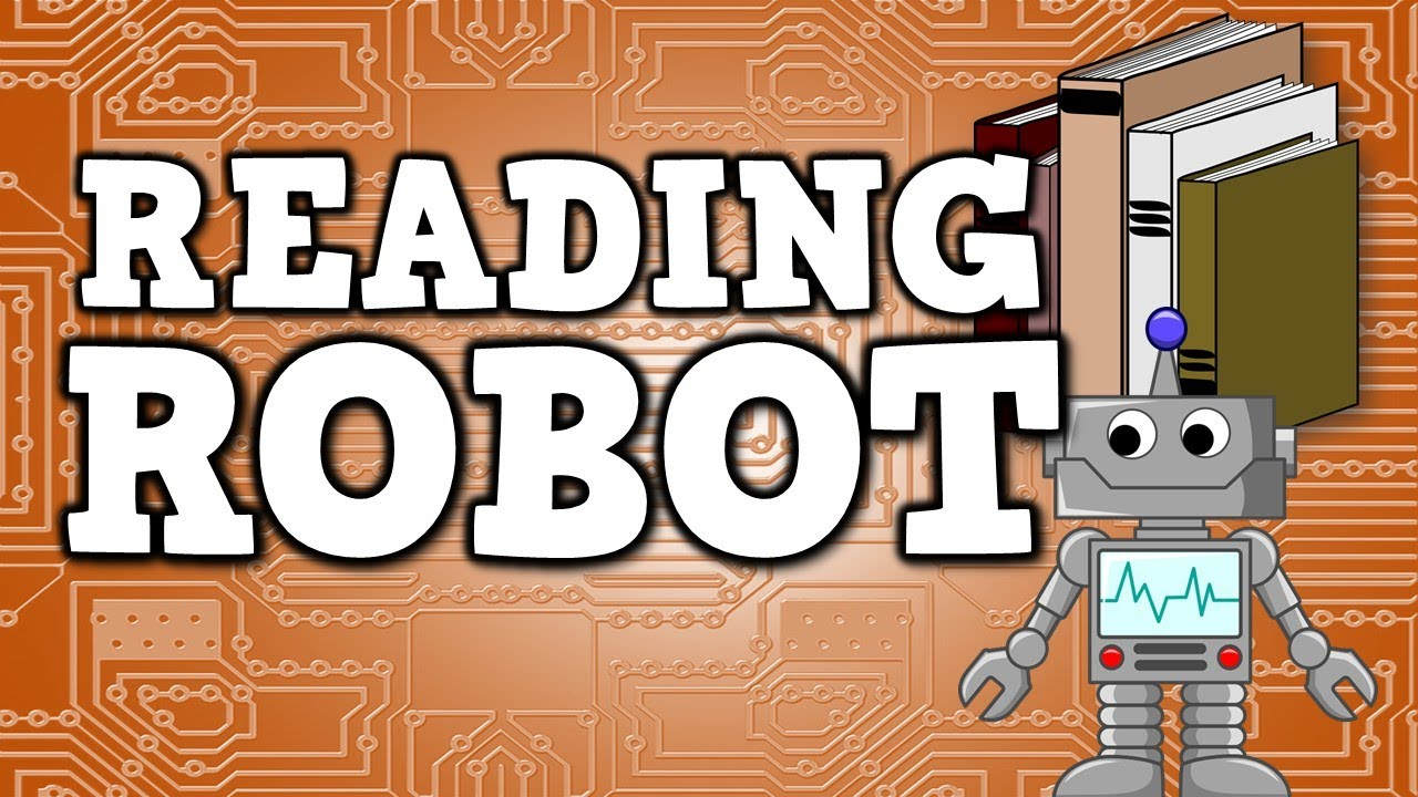 Reading Robot (Version 1)  [Sight Word Practice for kids!]
