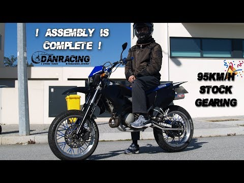 YAMAHA DT50X  - Bike Assembly | SPEED RUNS - EP9