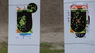 A rainy day at the Tenoroc Gun Shooting Range in Lakeland, FL. Glock 19, 23.