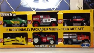 Top 6 TONKA Toys 2014 inc BULLDOZER, TRACTOR, OIL TANKER SUV AND FIRE ENGINE