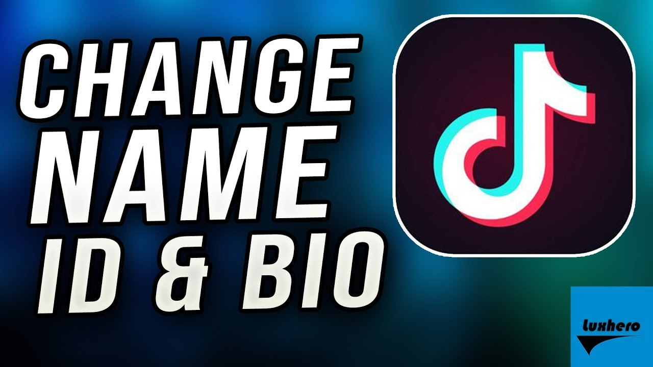 Tik Tok - How to Change Username, ID and Bio