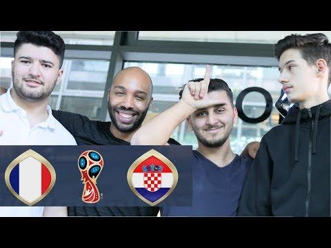 FIFA WM 2018 FINALE PREDICTION  | Frankreich - Kroatien | Mein erstes Community Event ft Serkan Isak