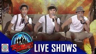 "Pinoy Boyband Superstar Live Shows: Allen, James & Niel - ""Best Song Ever"""