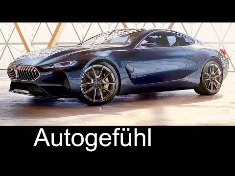 BMW 8 Series Coupé Preview Exterior/Interior 8er BMW all-new First Concept