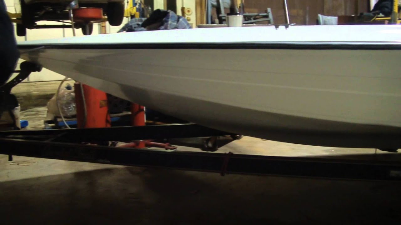 Removing A Rub Rail On A Bass Boat Youtube