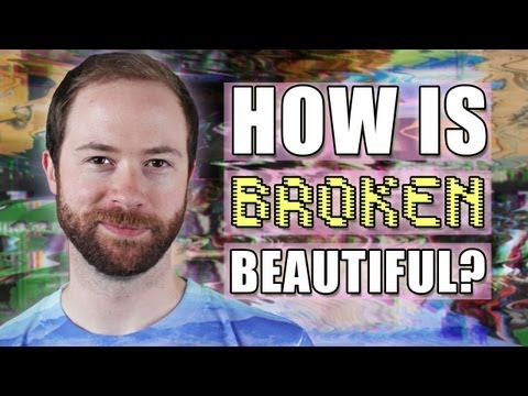 How Does Glitchy Art Show Us Broken Is Beautiful