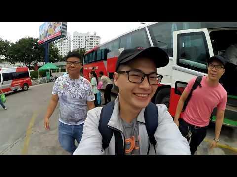 Tự túc Sài Gòn - Phnom Penh . Lần đầu đi qua nước ngoài .
