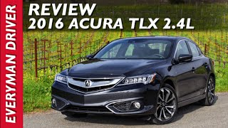 Here's the 2016 Acura TLX 2.4L with Tech on Everyman Driver