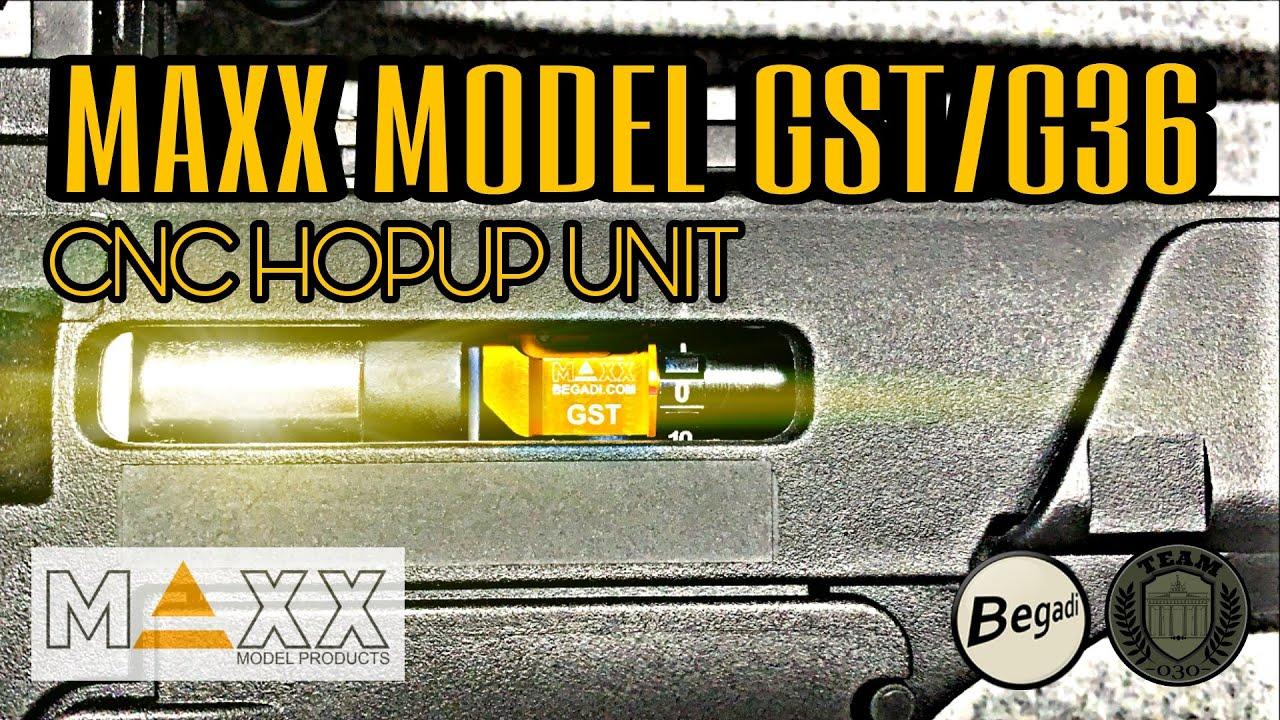 MAXX MODEL GST CNC HopUp Unit für G36 Modelle
