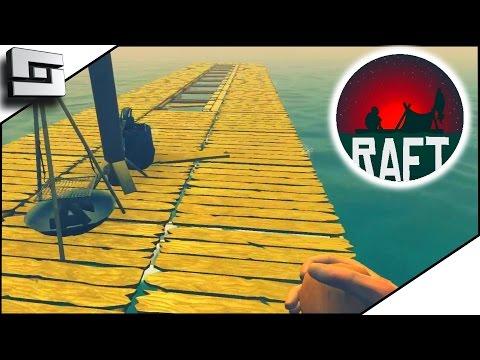 STRANDED ON A RAFT?! - Raft Gameplay Ep 1 | Sl1pg8r
