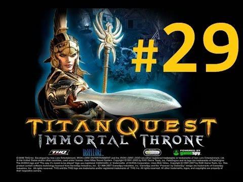 Titan Quest Immortal Throne Walkthrough - The Upper Nile [Part 29]