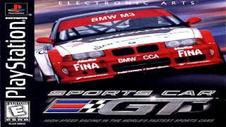 Sports Car GT PS1 Gameplay