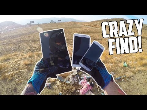 FOUND 2 CELL PHONES AND A TABLET!
