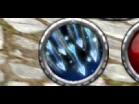 Avabel Elfeen EX Skill (Icicle Rain)