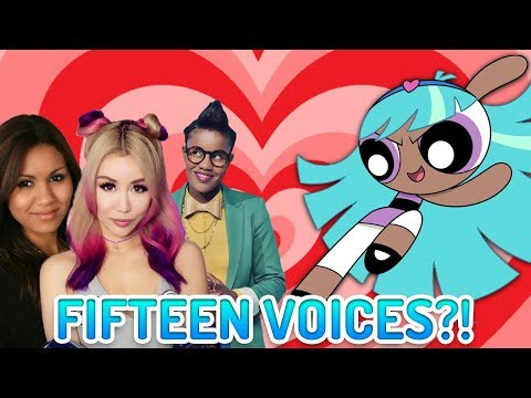 Bliss the Fourth Powerpuff Girl Has FIFTEEN Different Voices