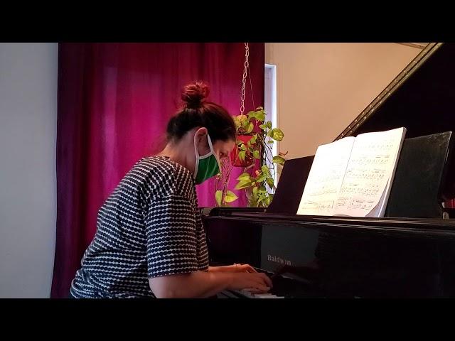 Chopin Nocturne opus 9 n 2 marine eleve de piano adulte