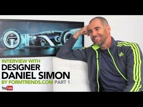 Daniel Simon: Conceptual Designer and Automotive Futurist (Part 1)
