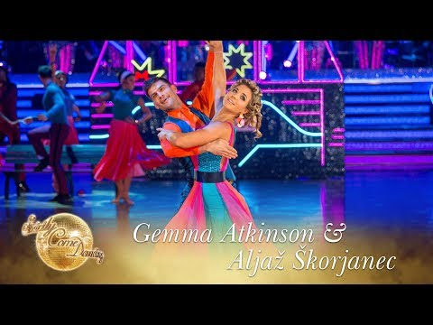 Gemma and Aljaz American Smooth to 'Downtown'  Strictly Come Dancing 2017
