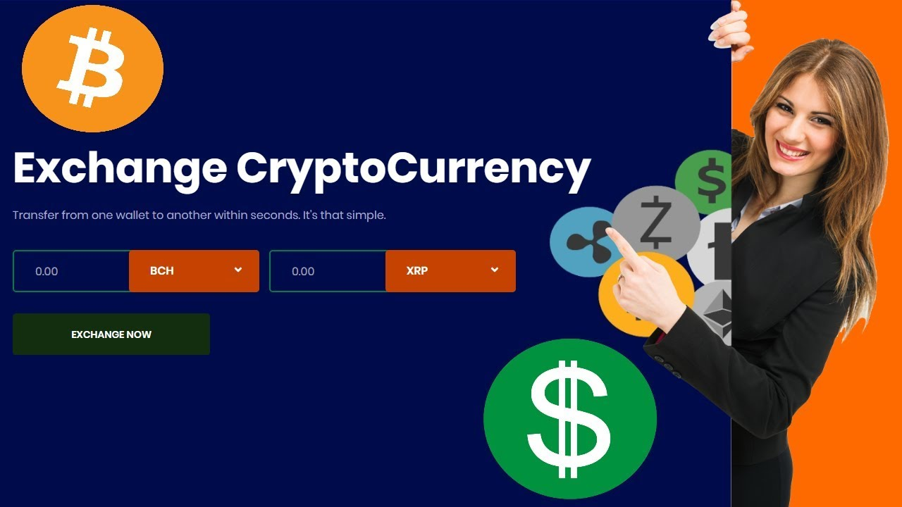 cryptocurrency exchange simple website
