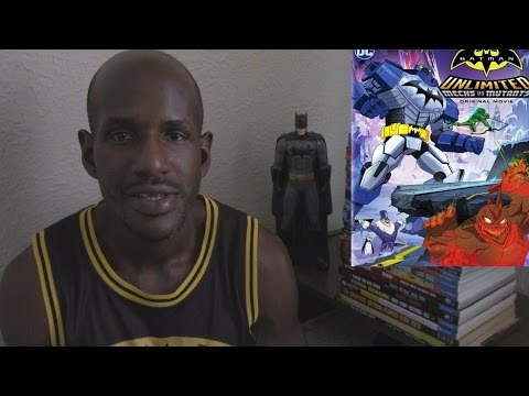 Batman Unlimited: Mechs vs Mutants Film Review