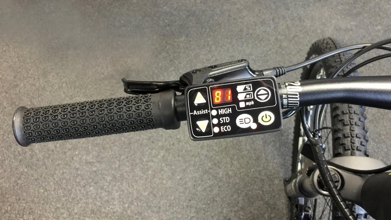 d7aef7b82a1 Yamaha LED Electric Bike Display Settings - YouTube