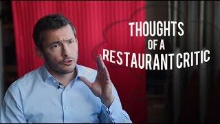 Being a Restaurant Critic - Giles Coren