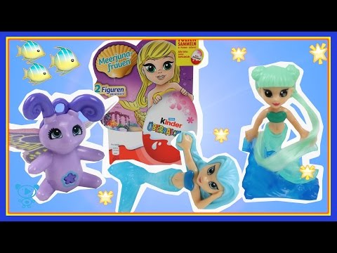 Kinder Surprise Eggs Little Mermaids -...