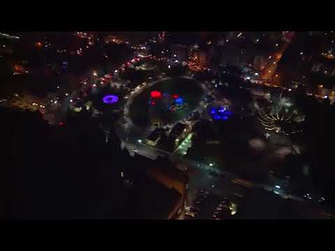 Aerial look: Highly-anticipated BLINK illuminates the streets of Cincinnati