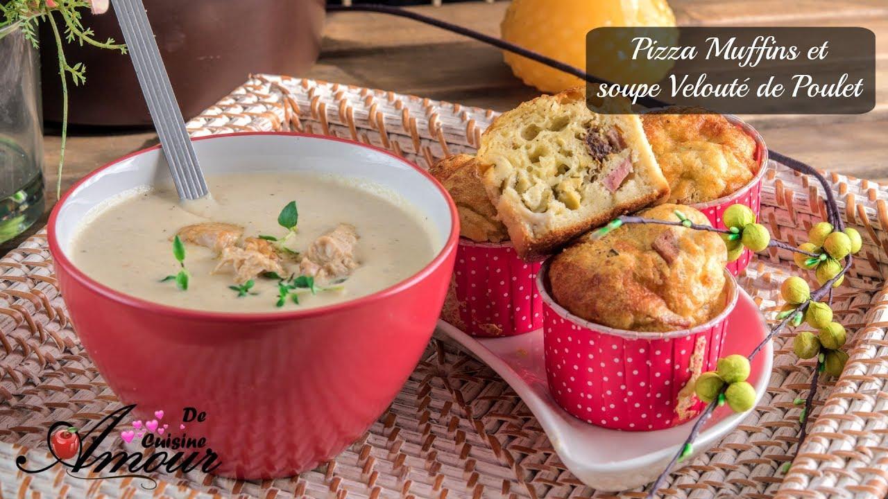 Soupe De Poulet Velouté De Poulet