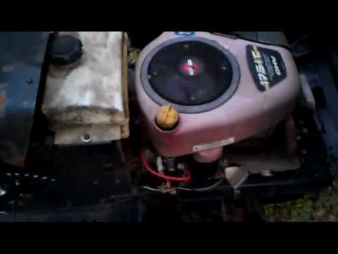Craftsman Electric Mower Wiring Diagram How Electrical System Is Wired For Briggs And Stratton