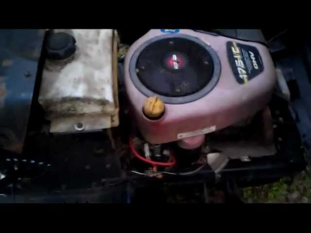 How electrical system is wired for Briggs and Stratton - YouTube  YouTube