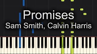 promises calvin harris sam smith piano tutorial medium