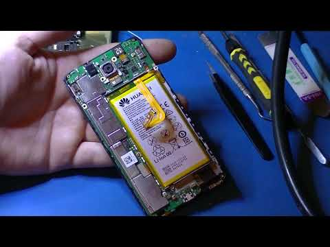 Ремонт телефона Huawei Honor 7 - замена разбитого дисплейного модуля.