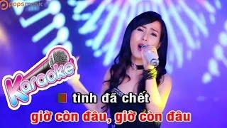 Chuyến Tàu Định Mệnh Remix - Karaoke - Beat Diệp Hoài Ngọc