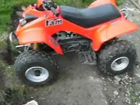 2004 100cc smc ram quad bike walk around youtube. Black Bedroom Furniture Sets. Home Design Ideas