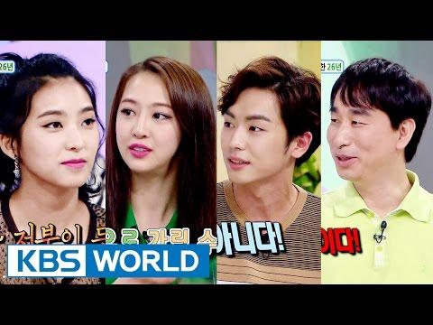 Hello Counselor - Bora, Dasom, An Wooyeon, Pyo Jinin [ENG/2016.07.18]