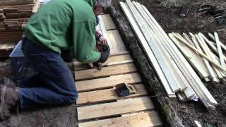 How To Build A Garden Fence From Scrap Lumber