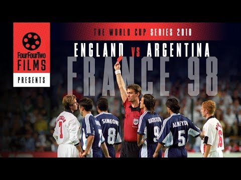 Argentina 2-2 England 1998 Documentary | The Game | World Cup Series