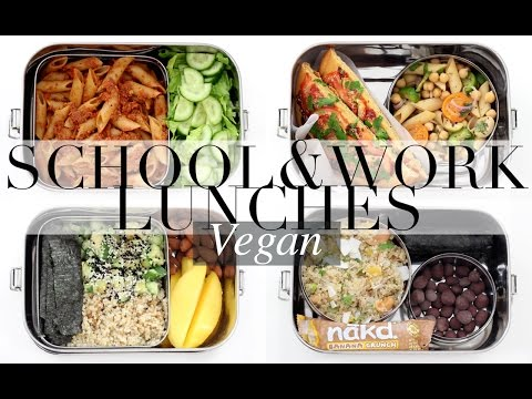 Vegan School & Work Lunch Ideas #2 | JessBeautician
