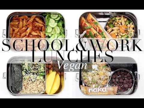 Vegan School & Work Lunch Ideas #2   JessBeautician
