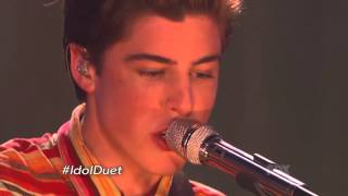 """Sam Woolf & Alex Preston - """"Let Her Go"""" Top 7 - American Idol Season XIII"""