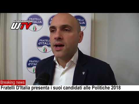 Politiche 2018, Fratelli D'Italia, intervista a Emanuele Prisco