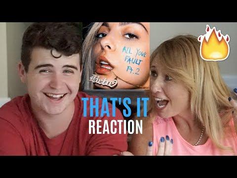 Bebe Rexha (ft. Gucci Mane & 2 Chainz) - That's It | REACTION w/ MY MOM