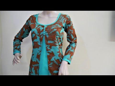 Trendy Designer Kurti Cutting And Stitching
