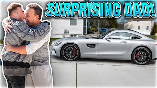 Surprising Dad With Mercedes Amg Gtr For Birthday!